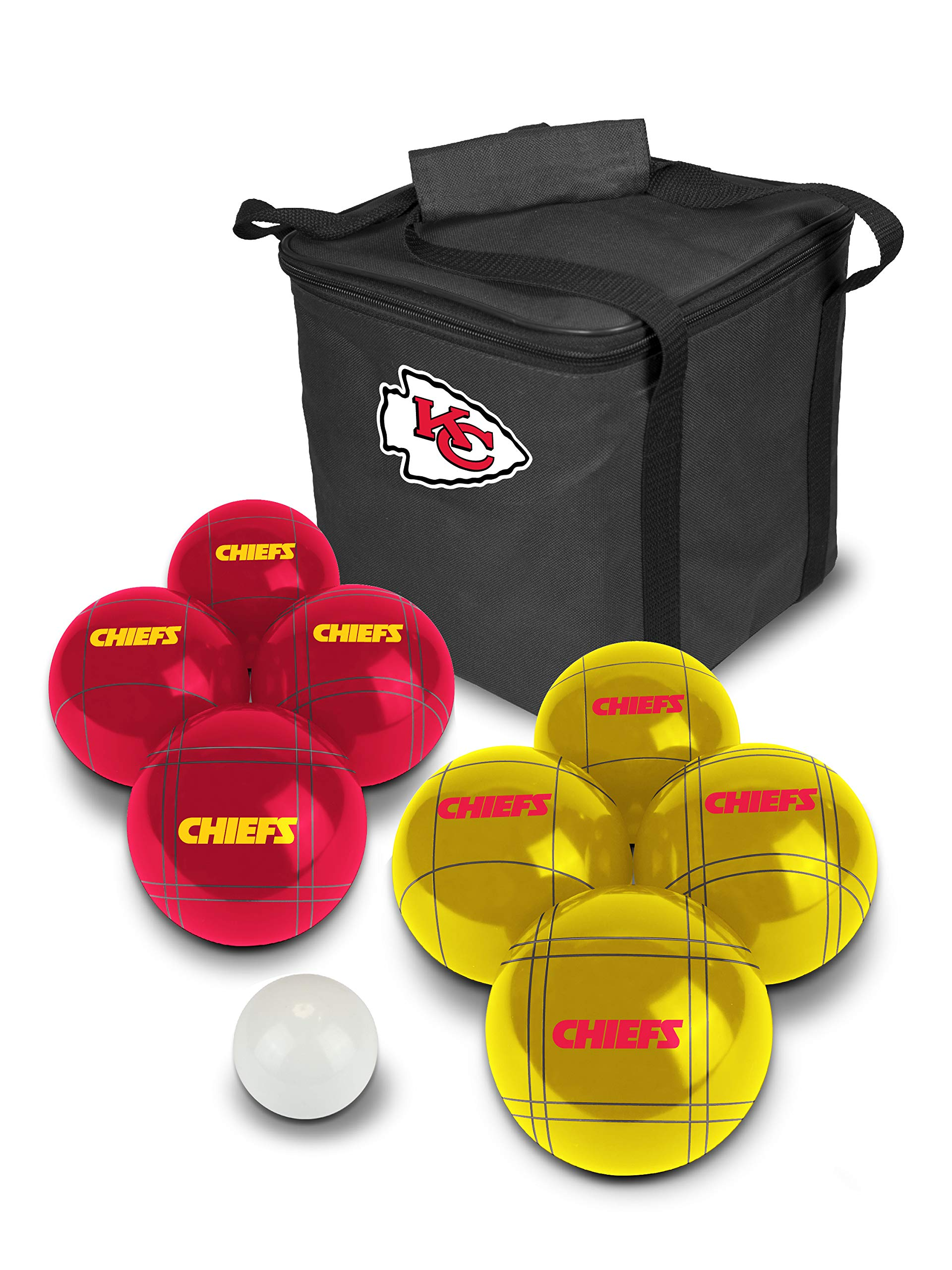 PROLINE NFL Kansas City Chiefs Bocce Ball Set by PROLINE (Image #1)