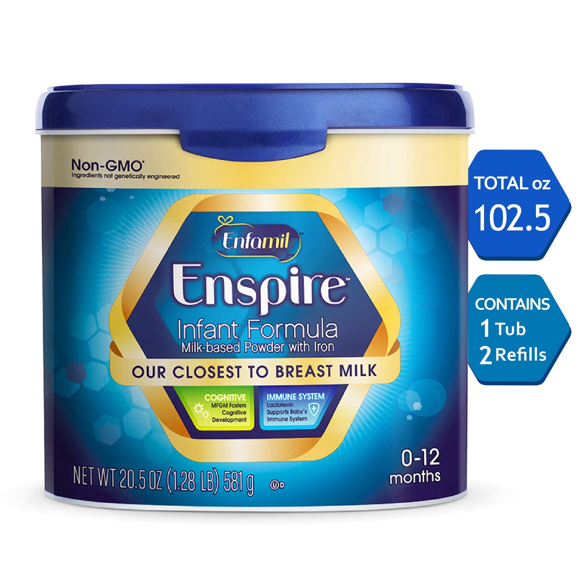 Amazon.com: Enfamil Enspire Infant Formula - Our Closest to Breast ...