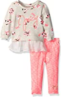 Juicy Couture Baby Girls' 2 Pieces Pants Set-Printed Top