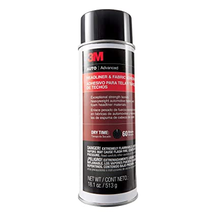 Amazon Com 3m 38808 Headliner And Fabric Adhesive 18 1 Oz
