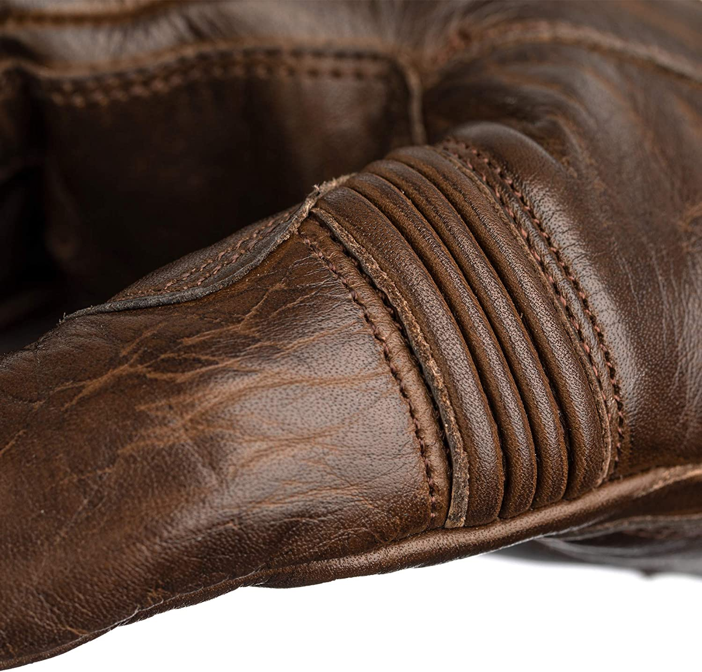 RST 2143 Roadster II 2 Vintage CE Mens Leather Motorcycle Gloves Black