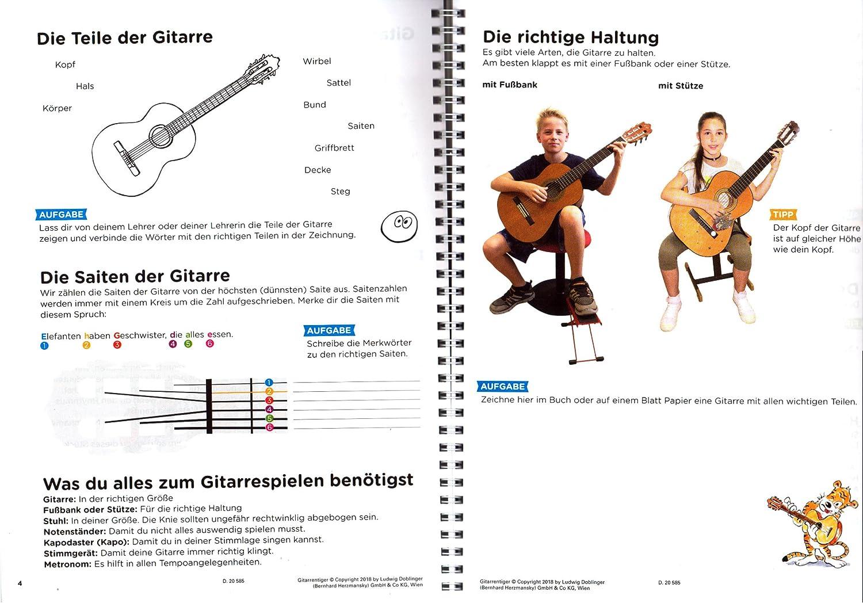 La Guitarra Tiger banda 1 – de espina Buena Guitarra Escuela de ...