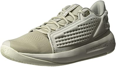 85d83a90f2c Under Armour Men s Torch Low Basketball Shoe Ghost Gray (100) White 7