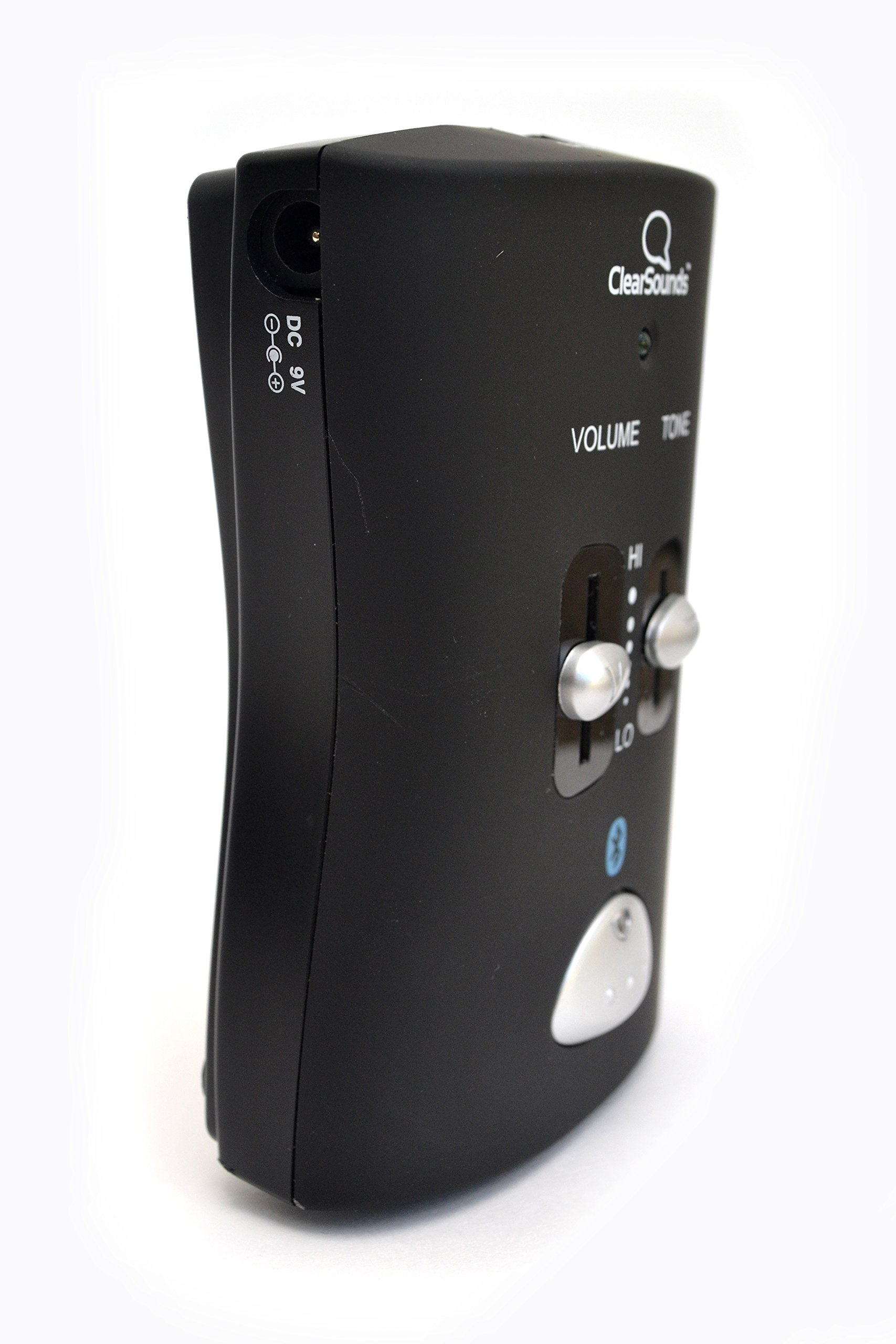 ClearSounds CSQH2 Bluetooth Hub & Phone Amplifier, Black by ClearSounds