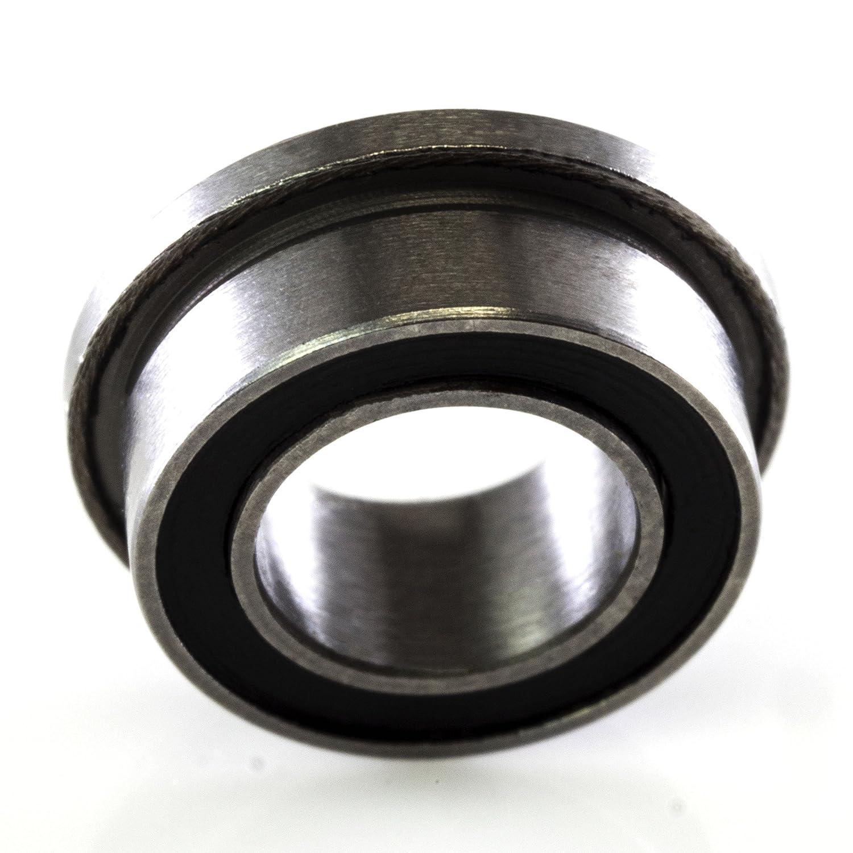 "R168-2RS Rubber Sealed Ball Bearing Bearings R168 1//4/"" x 3//8/"" x 1//8/"" 10 Pcs"