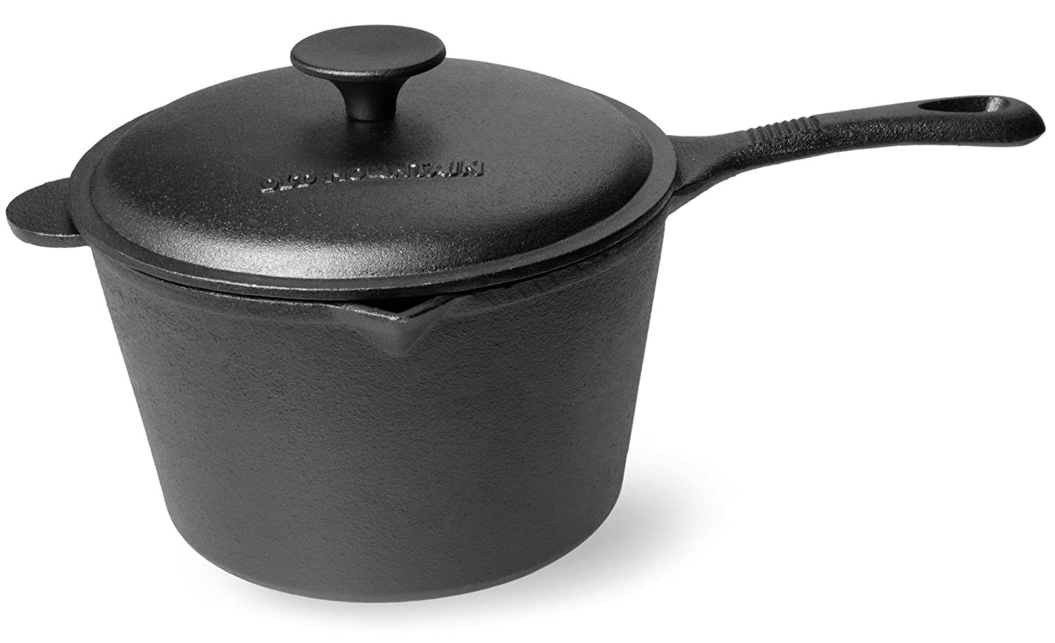 Old Mountain Pre Seasoned 3 Quart Sauce Pan with Lid