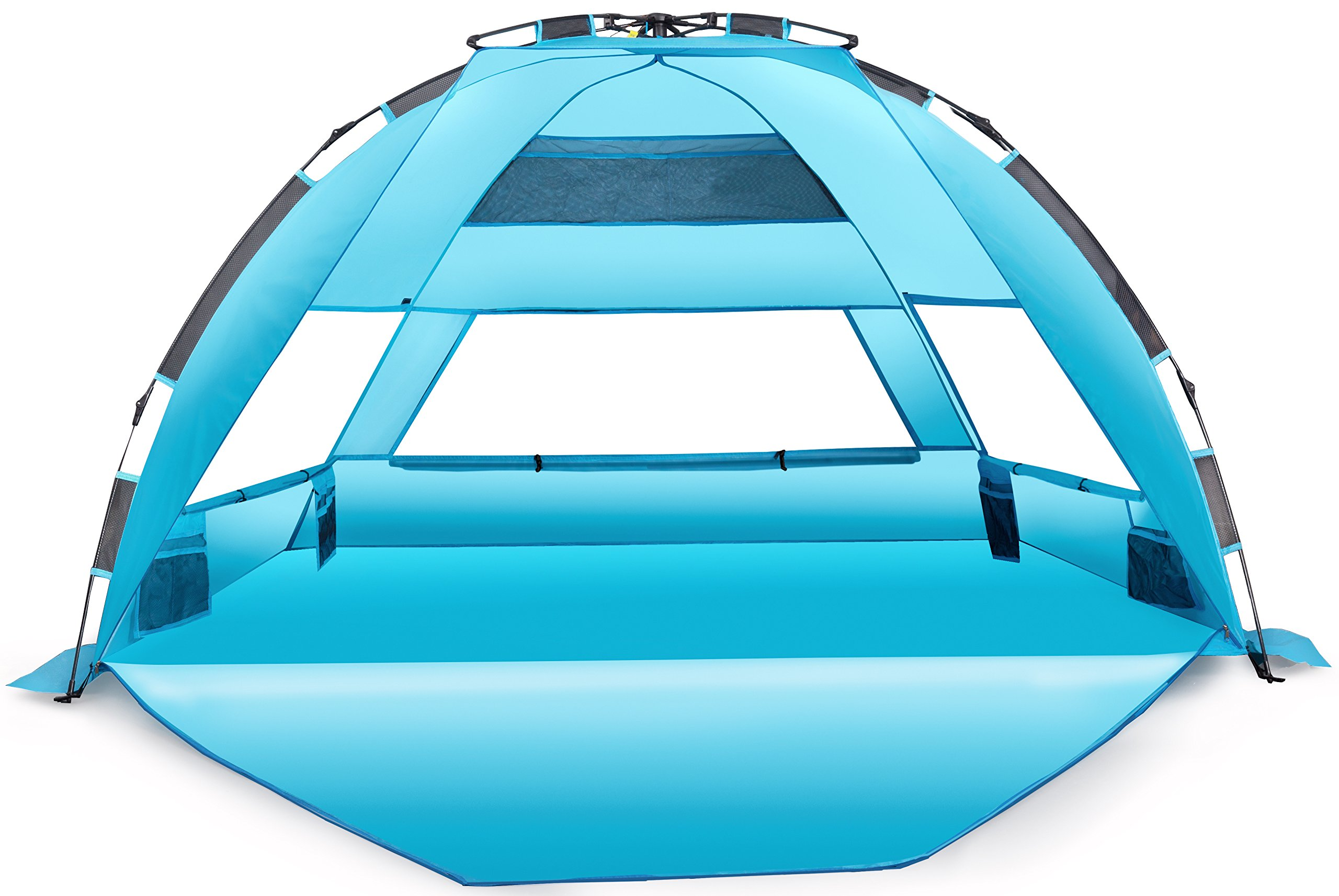 Arcshell Premium Extra Large Pop Up Beach Tent UPF 50+ by Arcshell