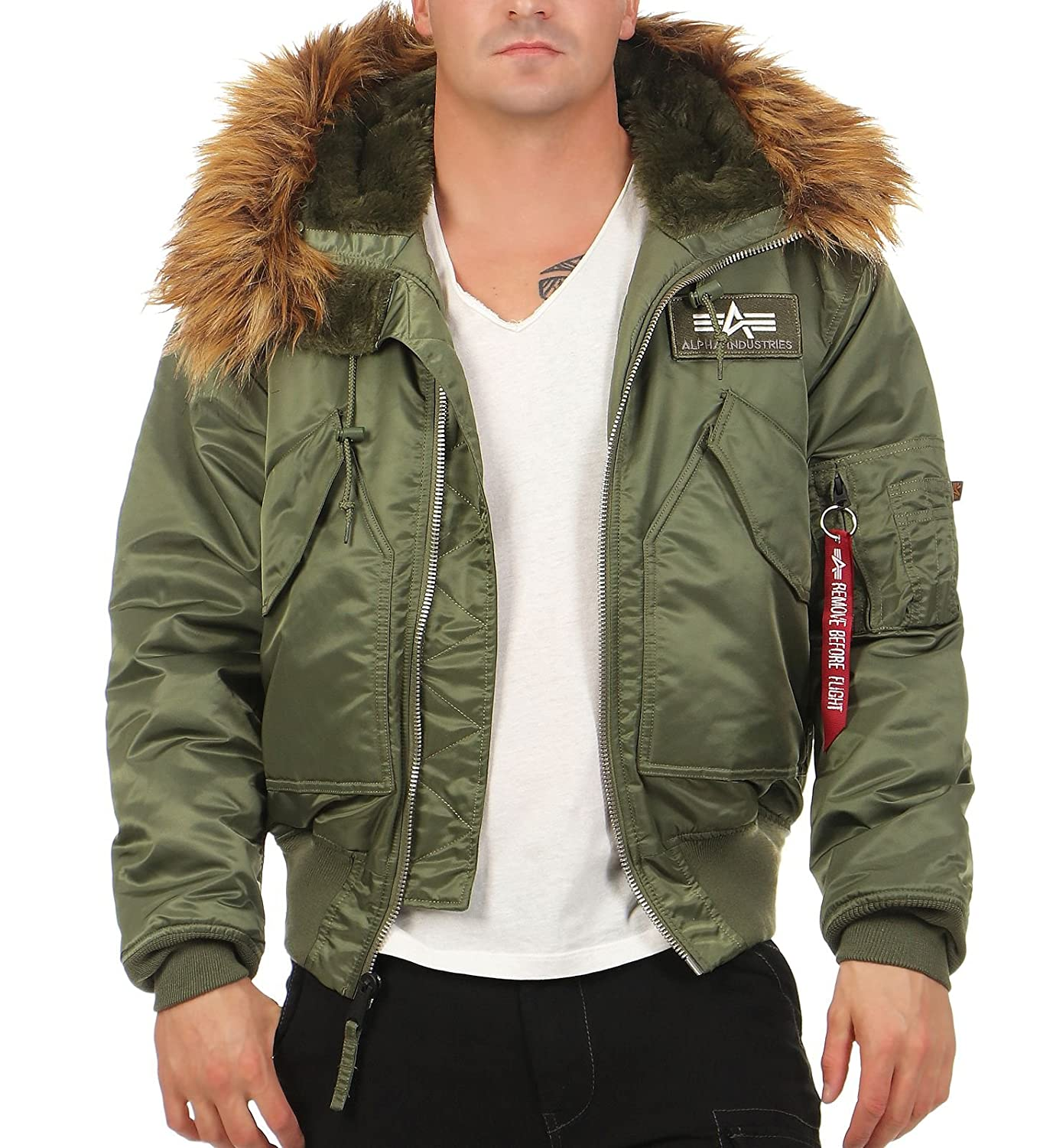 Alpha Industries 45 P Hooded Chaqueta