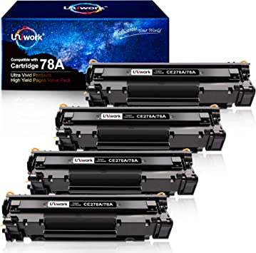 P1606DN Print.After.Print Compatible Toner Replacement for HP CE278A Black Works with: Laserjet P1566 P1606