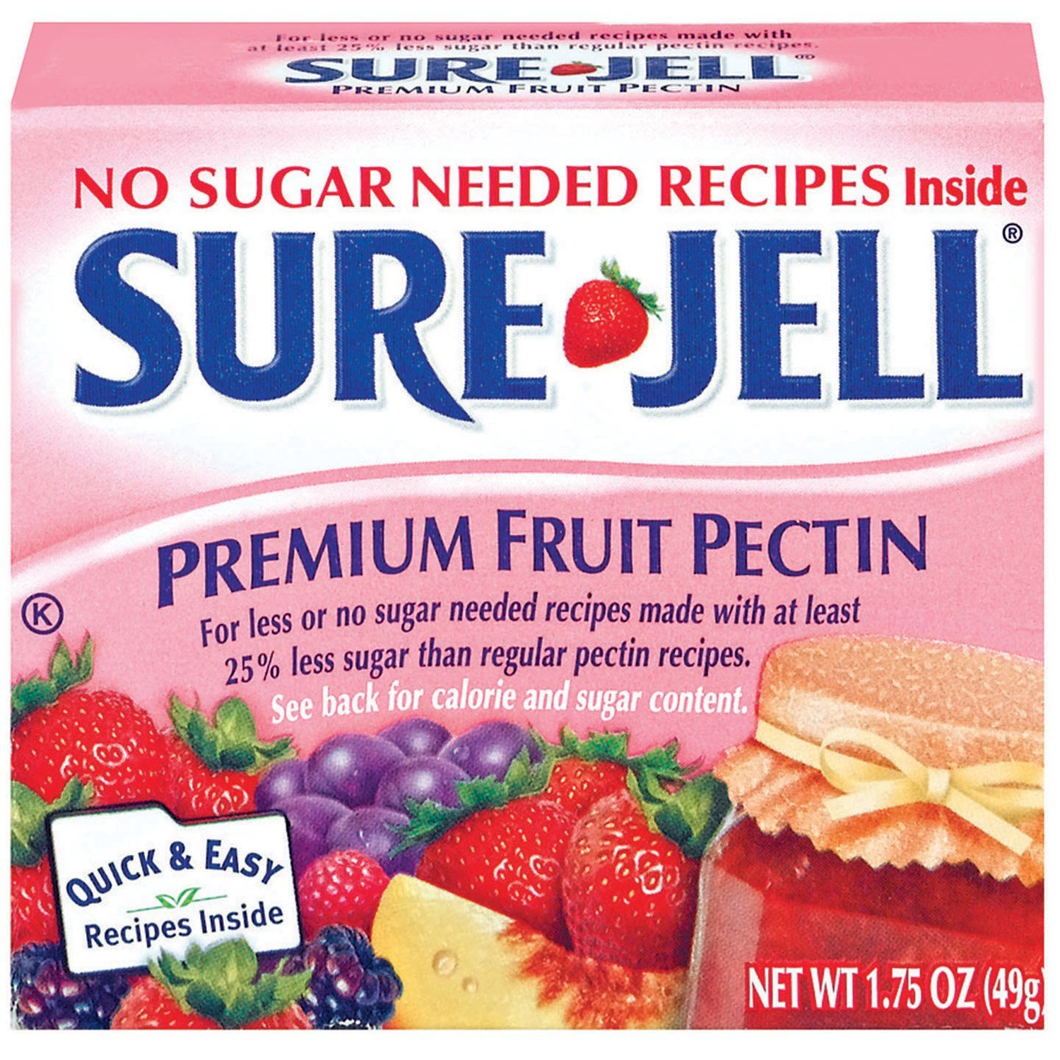 Sure Light Gelatin, 1.75 Ounce -- 24 Case by Kraft (Image #1)