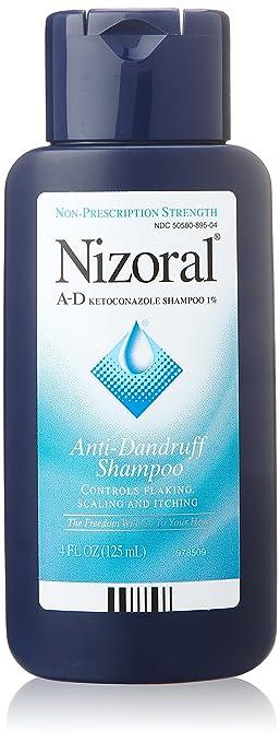 Nizoral A-D Anti-Dandruff Shampoo, 4 Oz