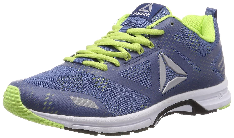 Reebok Ahary Runner, Zapatillas de Trail Running para Hombre 45 EU|Azul (Washed Blue/Electric Flash/Silver 000)