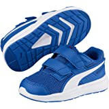 Puma Unisex's Escaper Mesh V Ps Strong Blue White Sneakers