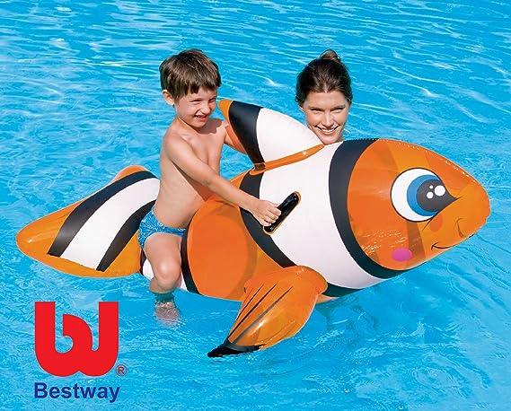 Juguete hinchable para playa y piscina de Nemo + Parche de ...