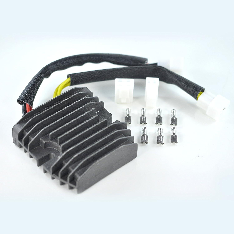 Mosfet Voltage Regulator Rectifier For Triumph Daytona 675 R 2006 2007 2008 2009 2010 2011 2012 OEM Repl.# T1300823 RaceTech Electric