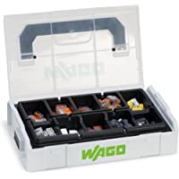 WAGO® Originele set, L-Boxx Mini, verbindingsklemmen met hendel, blikklemmen, 887-950 (146 delen)