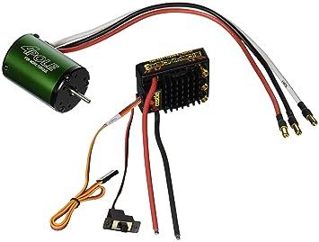 Castle Creations Sidewinder 3 Waterproof ESC with Motor NC1406-5700KV,  Scale 1:10