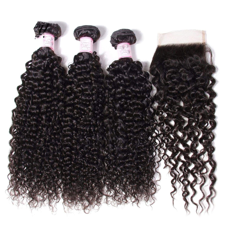 Amazon com : Straight Brazilian Hair Weave Bundles Deal