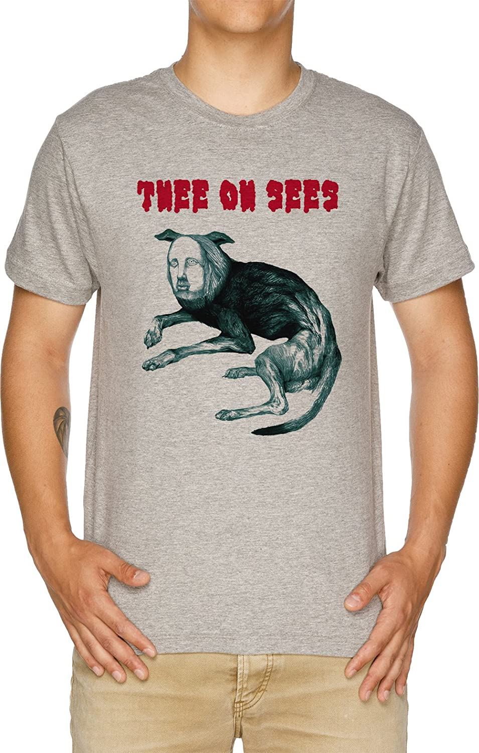 Thee Oh Sees Putrifiers II Men/'s T shirt White