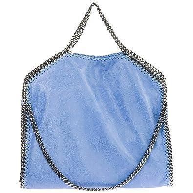 45edb84d4c Amazon.com  Stella Mccartney women Falabella Fold Over handbag azzurro   Shoes