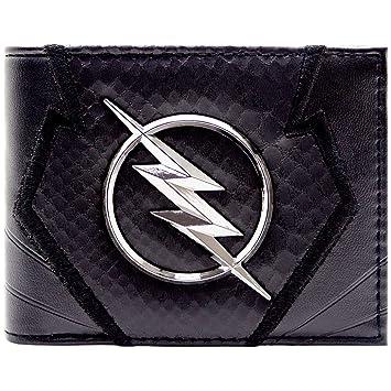 the flash zoom emblem jay garrick black id card bi fold wallet
