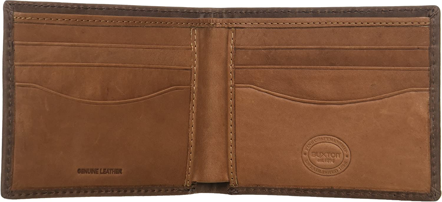 Buxton Mens Thinfold Bifold Wallet