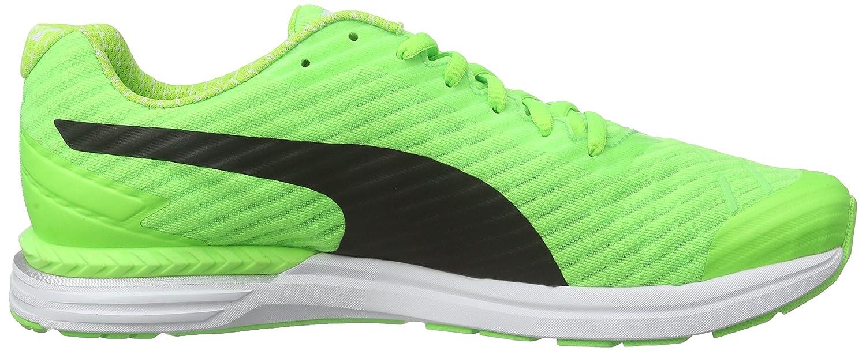 Puma Speed 300 Ignite Pwrcool, Running Homme - Vert - Grün (Green Gecko-Black 02), 47