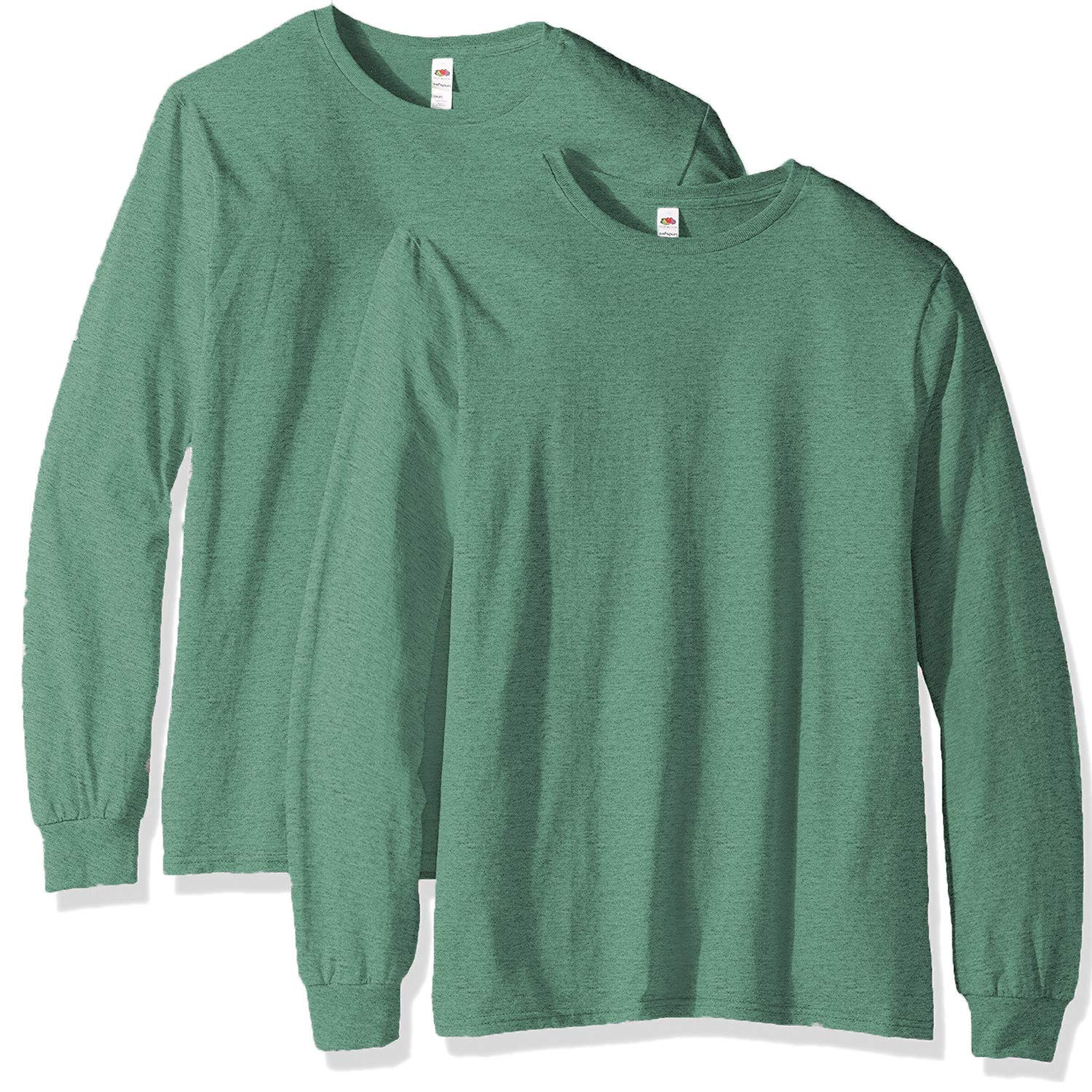 4f703b042 Fruit of the Loom Men s Long Sleeve T-Shirt (2 Pack) at Amazon Men s  Clothing store