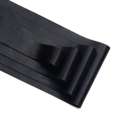"3/"" 75mm 1m BLACK LASER CUT grosgrain ribbon"