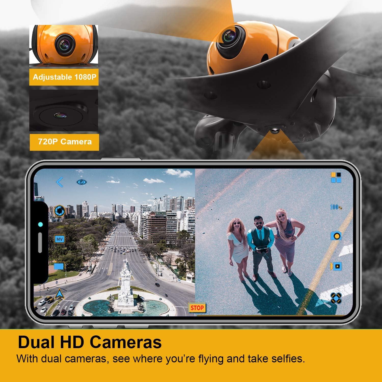 Dual Camera Scharkspark drone ss41 beetle review