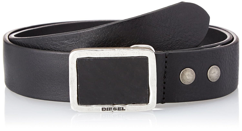 (ディーゼル) DIESEL メンズ ベルト - B-MURBLE - belt X05534PR080 B07FBFTCGV  ブラック 85 (M)