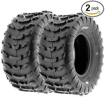 Amazon.com: SunF A006-22x10-10 - Juego de 2 neumáticos de ...
