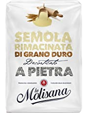 La Molisana Double Milled Durum Wheat Semolina Flour, 1  Kg