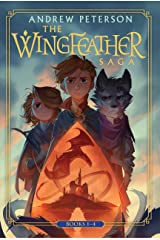 Wingfeather Saga Boxed Set: On the Edge of the Dark Sea of Darkness; North! Or Be Eaten; The Monster in the Hollows; The Warden and the Wolf King (The Wingfeather Saga) Hardcover