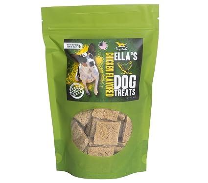 Amazon Com Ella S Diabetic Dog Treats Chicken Flavored 8oz