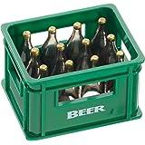Bierkasten Flaschenöffner Flaschen-Öffner Bieröffner mit Magnet Kapselheber Rot