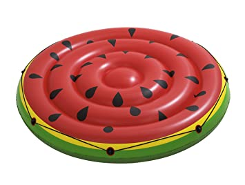 Bestway Flotador inflable de la piscina de la isla de la sandía