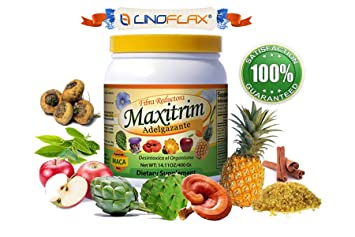 Multi Weight Loss fiber Mix Maxitrim Adelgazante Linoflax