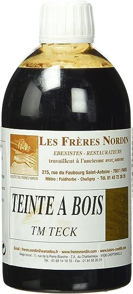 Les Frères Nordin 410509 – Tinte para madera, color teca