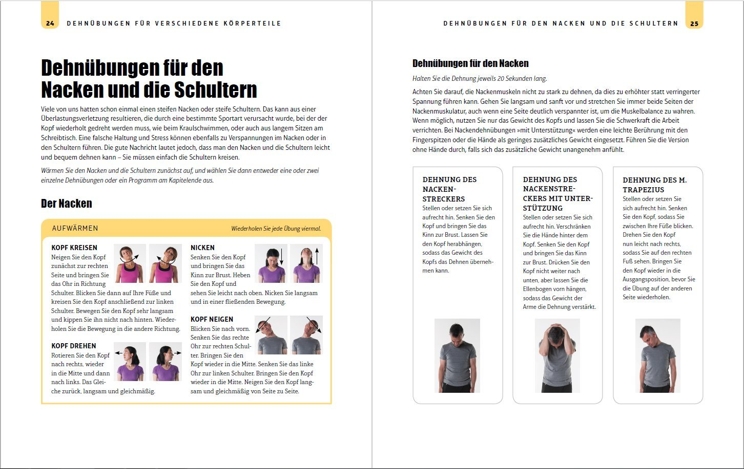 Stretching-Bibel: Die besten Übungen für maximale Fitness und ...
