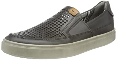 Ecco Men's Kyle Perforated Slip-On Sneaker
