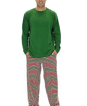 Babysbreath Juego de pijamas de la familia de las rayas de la Navidad para la familia