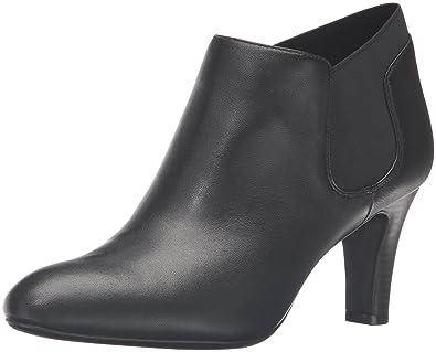 Bandolino Women's Wilbur Ankle Bootie, Black, ...