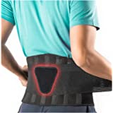FEATOL Back Brace Support Belt-Lumbar Support Back Brace for Lifting,Back Pain, Sciatica, Scoliosis, Herniated Disc…