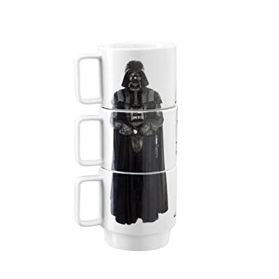 Underground Toys Stacking DV Storm Imperial Guard Star Wars Home Mugs, Red: Toys & Games