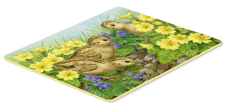 24 by 36 Multicolor Carolines Treasures ASA2177JCMT Pheasant Chicks Kitchen or Bath Mat