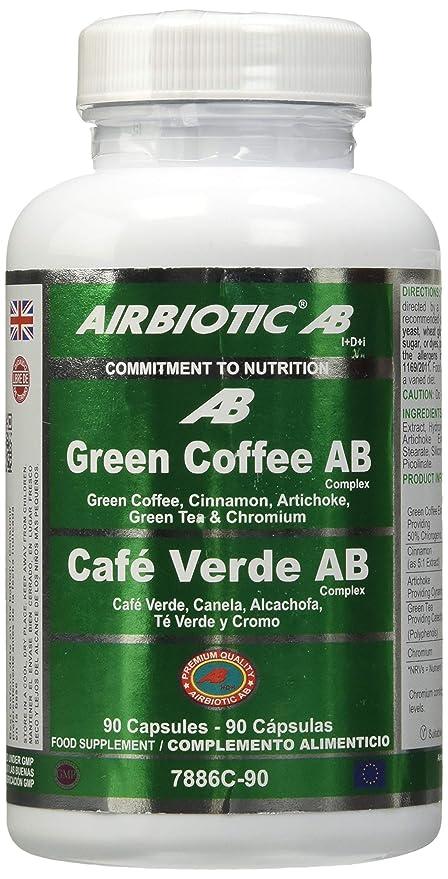 Airbiotic AB - Cafe Verde AB Complex con Hierbas, Adelgazar
