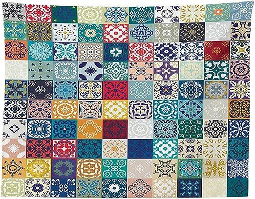 vipsung marroquí Decor Mantel Mega, diseño de Patchwork árabe ...