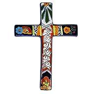 "Talavera Traditional Cross #5-8.75"" x 12.25"""