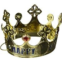Customisable Age Birthday Crown Plastic